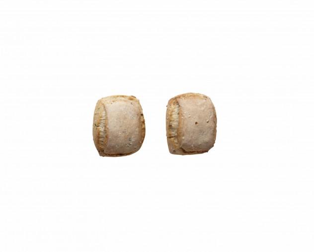 Desembolletje met gefermenteerde zadenpasta