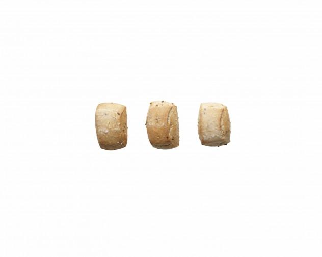 Mini desembolletje met gefermenteerde zadenpasta