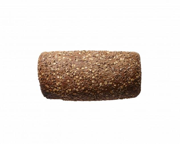 Desem vloerbrood zaden in een blik gebakken