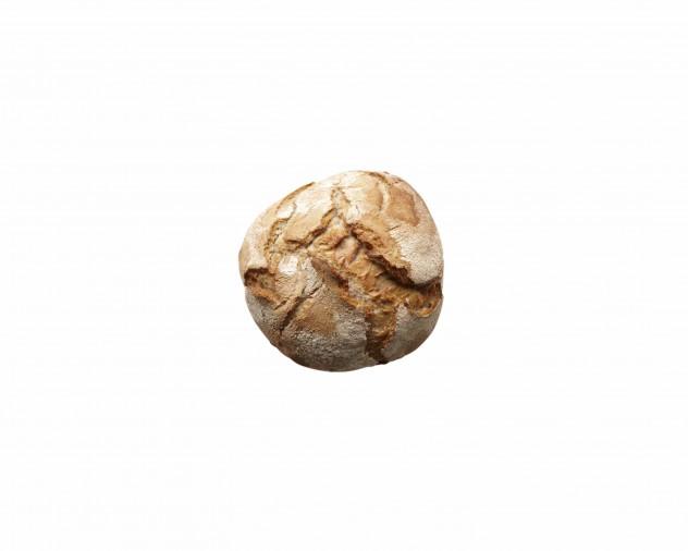 desembol op de stenenvloer gebakken